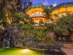 Hawaiian House For 13m A Mountain Top Hawaiian Home Waterfalls Included