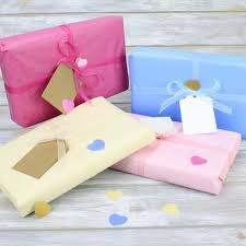 gift tissue paper gift wrapping pack including high quality tissue paper organza ribbon