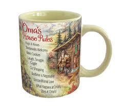 Ceramic Coffee Mugs Oma U0027s House Rules
