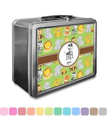 box personalized safari lunch box personalized baby n toddler