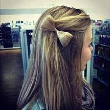 how to make your own hair bows how to style your own half up hair bow after a haircut at
