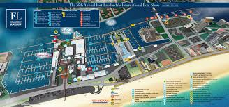 Fort Lauderdale On Map Overview Maps At Fort Lauderdale International Boat Show 2017