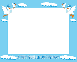 frame clipart baby shower pencil and in color frame clipart baby