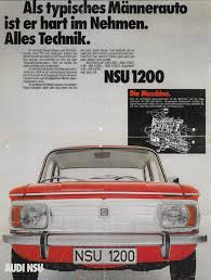 ge si e auto 1971 nsu 1200 germany by michael on flickr automotive 70s ads