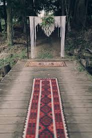 wedding backdrop hire london our rug aisle and macrame wedding backdrop hummingbird