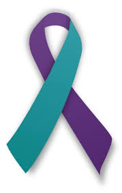teal ribbons ptsd dissociative disorders and abuse ribbons profile pictures