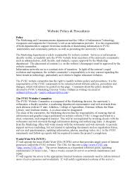 policies and procedures template 2 free templates in pdf word