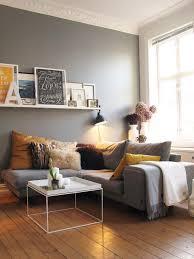 déco coussin canapé design interieur déco salon canape gris coussins jaune gris table