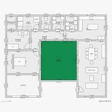 plan de maison 5 chambres plan maison en forme de u avec piscine plans maisons homewreckr co