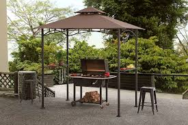 amazon com sunjoy grill gazebo for backyard bbq garden u0026 outdoor