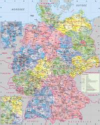Germany Map Europe by Large Administrative Map Of Germany With Roads And Cities