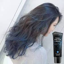 shaping long hair 50 ml disposable romantic purple color hair wax mud quickly