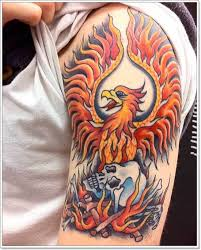 40 phoenix tattoo designs for men