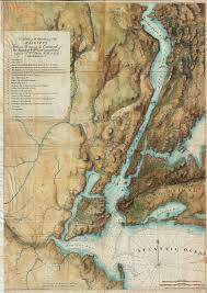 Map Of Kings Landing File 1864 1777 Valentine Des Barres Map Of New York City And
