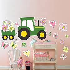 Removable Wall Decals For Nursery Deere Pink Removable Wall Decals For Dees Room