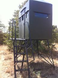 Deer Blind Plans 4x6 Tower Blinds By Texas Deer Stands