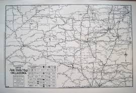 Map Of Oklahoma State by Antique Maps Of Oklahoma