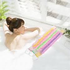 bain de si e 1 pcs bande de serviette utiliser épaissie fleur de