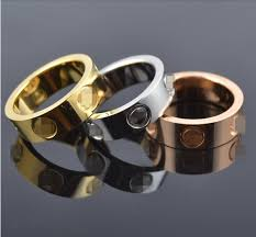 wedding band brand top classic design brand 6mm gold color wedding band