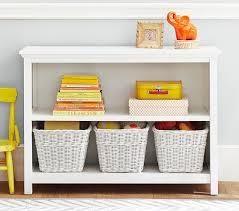 Kid Bookshelves by Cameron 2 Shelf Bookcase Pottery Barn Kids 42wx30hx14d Kid