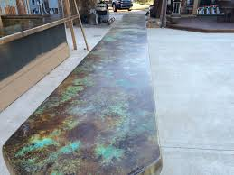 Photos Of Stained Concrete Floors by Coffee Brown Acid Stain Photo Gallery Direct Colors Inc