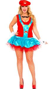 Italian Halloween Costume Size Red Playful Plumber Costume Size Red Italian Plumber