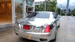 gold maserati quattroporte silver mirror chrome maserati quattroporte tony wrap 2 www