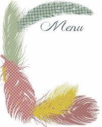 thanksgiving dinner menu template 100 easy menu templates free free thanksgiving templates 31