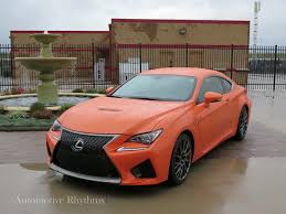 red lexus 2015 2015 lexus rc f powerful impact automotive rhythms