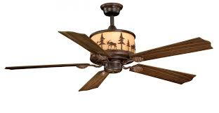 Lodge Ceiling Fans With Lights Vaxcel Fn56305bbz Yellowstone Ceiling Fan 56 Burnished Bronze