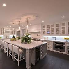 How To Design A Kitchen Island With Seating by The 25 Best Large Kitchen Island Ideas On Pinterest Large