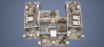 Holiday Inn Club Vacations At Desert Club Resort Floor Plans Phoenician Casitas Two Bedroom Casita Suite