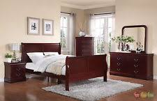 Louis Philippe Sleigh Bed Louis Phillipe Bedroom Set Ebay