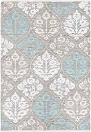 artistic weavers elaine eli 3081 luke light gray light blue rug