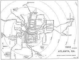 Map Of Atlanta Georgia by Vintage Antique Atlanta Maps Atlanta
