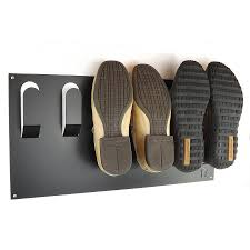 Entryway Wall Organizer by Stylish Wall Mounted Shoe Rack Wall Mounted Shoe Rack Shoe Rack