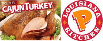 grubgrade popeyes cajun style turkey returns for another season