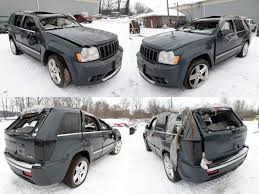 2007 steel blue jeep grand cherokee srt 8 cleveland power