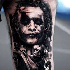 joker tattoo this is really good tattoos piercings pinterest