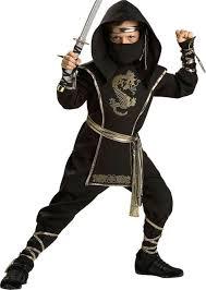 Halloween Costume Ninja Boys Elite Ninja Warrior Costume Party Fall Halloween