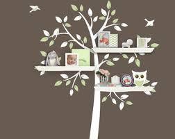 Tree Of Knowledge Bookshelf Tree Bookshelf Etsy