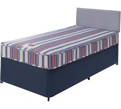 buy forty winks bibby basic single divan bed with mattress at
