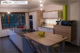 cuisine avec plan de travail en bois cuisine blanche plan de travail bois nouveau cuisine blanche avec