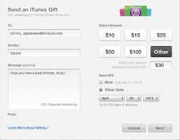 send online gift card send online gift card itunes