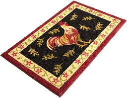 Rooster Rugs For The Kitchen Rooster Kitchen Decor