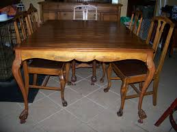 Antique Dining Sets Antique Round Oak Table