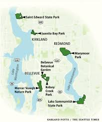 Bellevue Seattle Map by Pick A Park For An Eastside Bird Watching Walk From Bellevue To