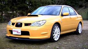 yellow subaru wrx nihon car subaru wrx sti spec c type ra r thorough review and