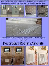 Decorative Return Air Grill Accesories U2014