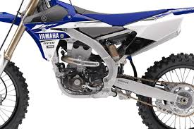 yamaha motocross bikes first look 2018 yamaha yz450f motocross feature stories vital mx